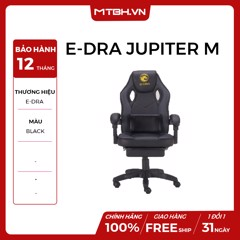 GHẾ E-DRA JUPITER M EGC204 GAMING BLACK