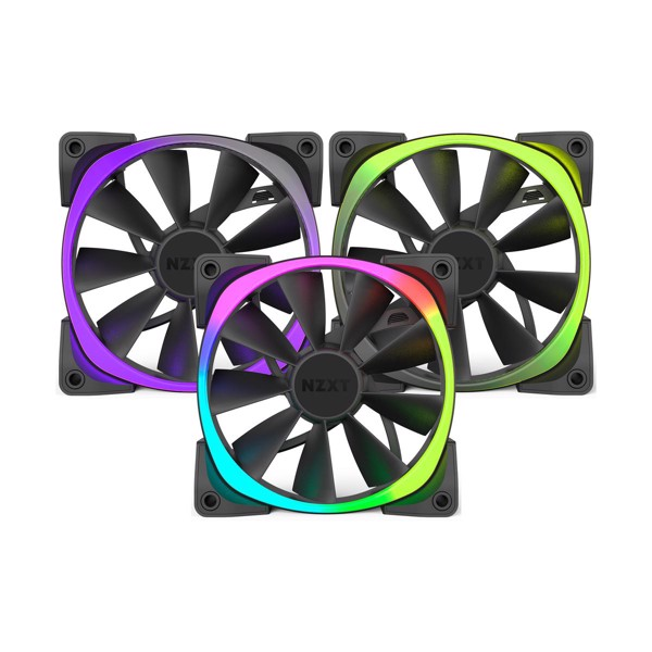 FAN CASE NZXT AER RGB 140MM TRIPLE PACK