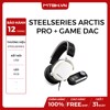 TAI NGHE STEELSERIES ARCTICS PRO+ GAME DAC WHITE