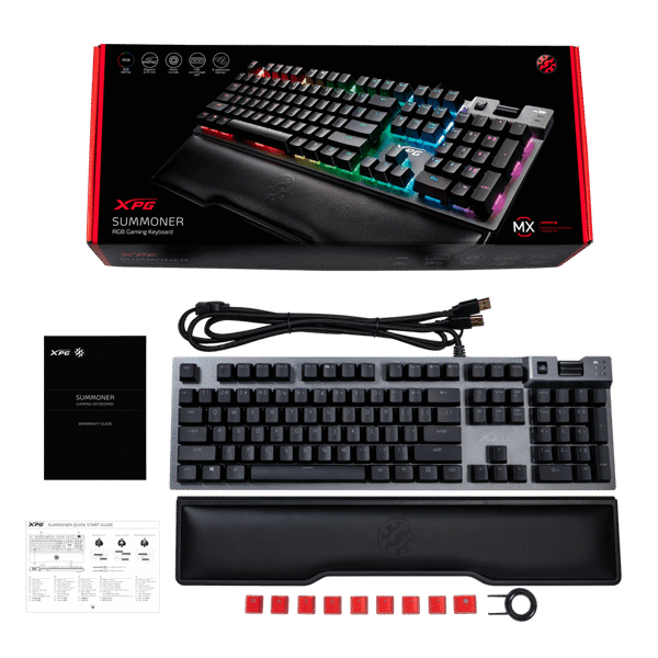 BÀN PHÍM CƠ ADATA XPG SUMMONER CHERRY MX RGB RED SWITCH