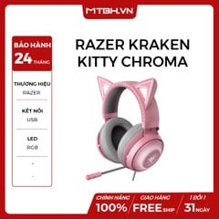 TAI NGHE Razer Kraken Kitty Chroma USB Quartz