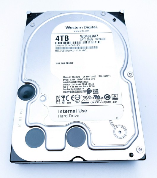 HDD WD 4TB  (WD40EDAZ) NEW