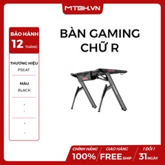 BÀN PSEAT GAMING CHỮ R Led RGB RED