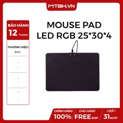 MOUSE PAD LED RGB 25*30*4 GAMING NEW
