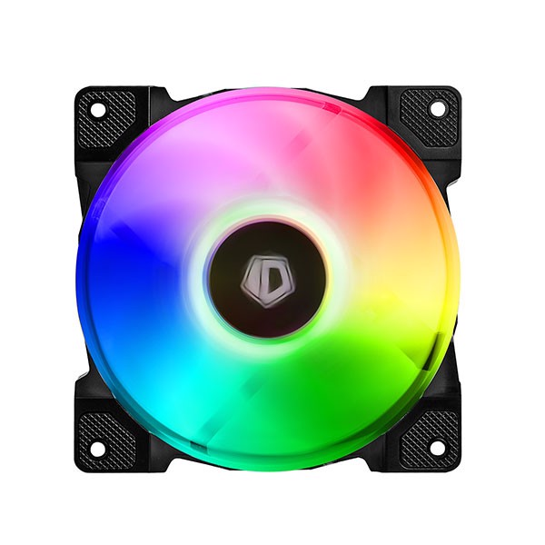 FAN CASE ID-COOLING DF-12025-ARGB Single Pack ( Addressable RGB, RGB SYNC With motherboard/ RGB Water Cooler 120mm PWM )