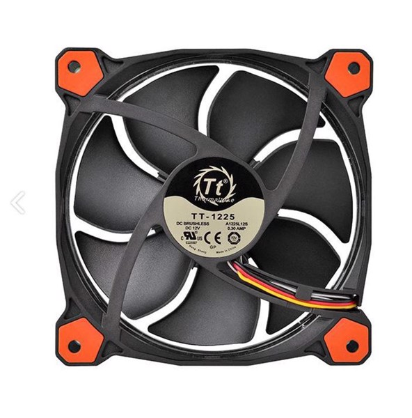 FAN CASE THERMALTAKE 12CM RIING LED RED
