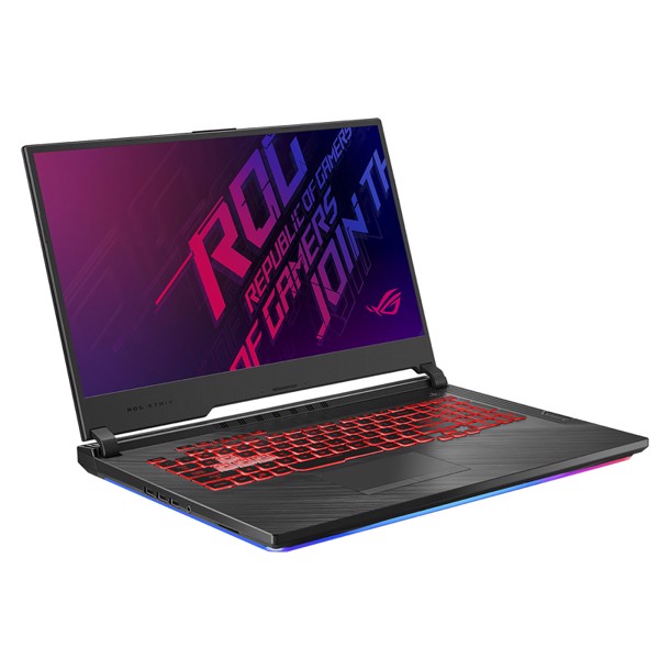 LAPTOP ASUS GAMING ROG STRIX G G731GT-H7114T CORE I7 9750H GEFORCE GTX 1650 4GB 8GB 512GB 17.3″ IPS 120HZ MULTICOLOR KEYBOARD WIN 10