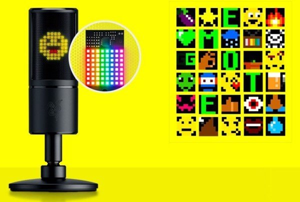MICROPHONE Razer Seiren Emote – Microphone with Emoticons
