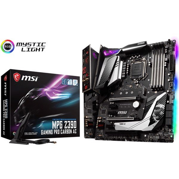 MAIN MSI Z390 MPG GAMING PRO CARBON AC NEW
