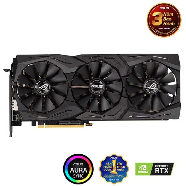 VGA ASUS RTX 2060 6GB ROG STRIX GAMING 6G (ROG-STRIX-RTX2060-6G-GAMING)