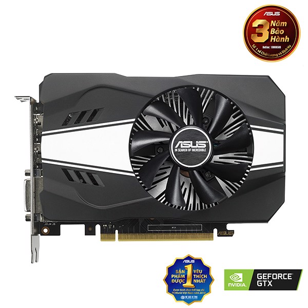 VGA ASUS GTX 1060 DUAL-BALL 3GB 1FAN (PH-GTX1060-3G)