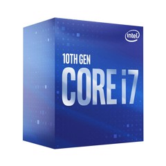 CPU INTEL CORE i7 10700F (2.9GHz turbo 4.8GHz | 8 nhân | 16 luồng | 16MB Cache) 10TH NEW BOX CTY
