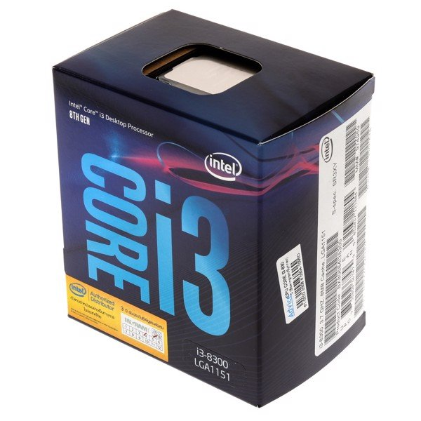 CPU CORE I3 8300 3.7Ghz SK1151 V2 COFFEE LAKE NEW BOX