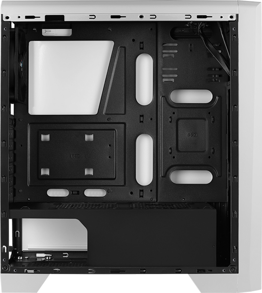 CASE AEROCOOL CYLON WG LED RGB - WHITE