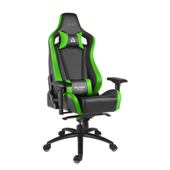 GHẾ ALPHA GAMER GAMING CHAIR POLARIS RACING SERIES - XANH LÁ ĐEN