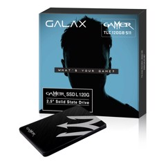 SSD GALAX 120GB GAMER (Read/Write Speed : 528/447 MB/s)