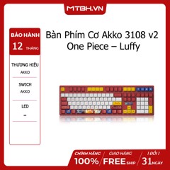 Bàn Phím Cơ Akko 3108 v2 One Piece – Luffy (Akko switch v2)