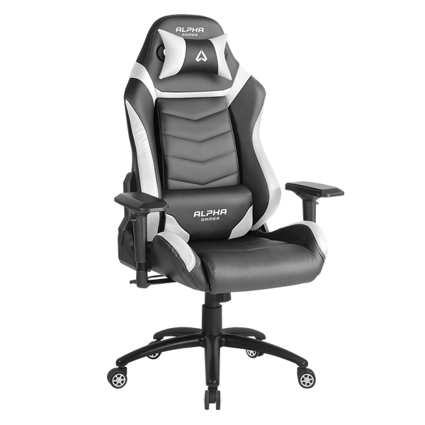 GHẾ ALPHA GAMER GAMING CHAIR GAMMA SERIES - ĐEN/CAM