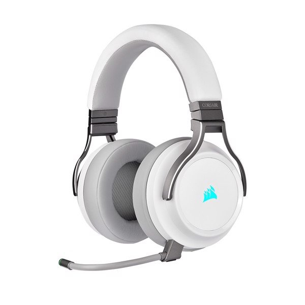 TAI NGHE Corsair Virtuoso RGB Wireless White