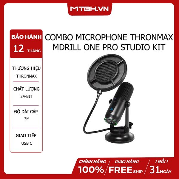 COMBO MICROPHONE THRONMAX MDRILL ONE PRO STUDIO KIT