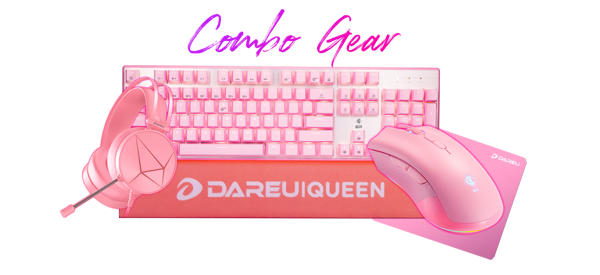 COMBO GEAR BJX PINK EDITION GAMING
