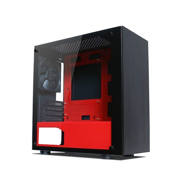 CASE TECWARE NEXUS M - BLACK/RED