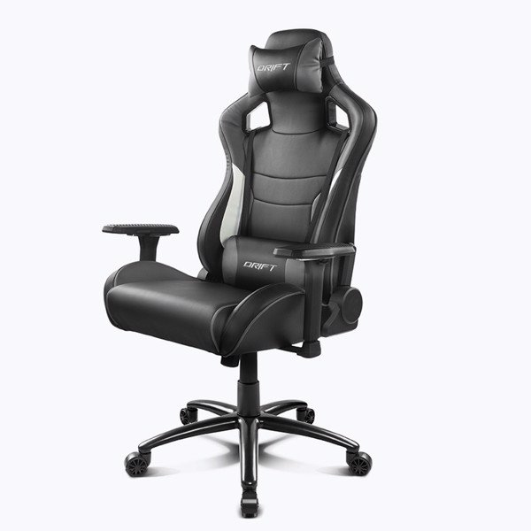 GHẾ GAMING DRIFT DR400 BLACK/GREY/WHITE