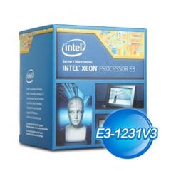 CPU INTEL XEON E3-1231V3 TRAY