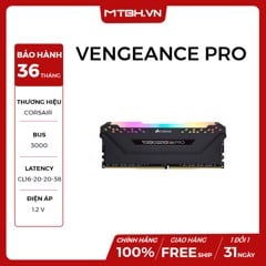 RAM DDR4 8GB CORSAIR VENGEANCE PRO RGB BUSS 3000Mhz NEW