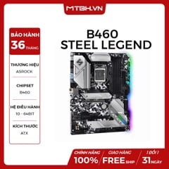MAIN ASROCK B460 Steel Legend