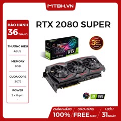 VGA ASUS RTX 2080 SUPER 8GB OC edition 8GB GDDR6