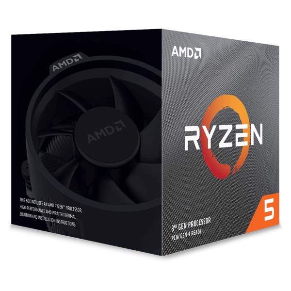 CPU AMD Ryzen 5 3500X 3.8 GHz (4.1GHz Max Boost) / 32MB Cache / 6 cores / 6 threads)