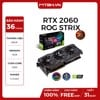 VGA ASUS RTX 2060 6GB ROG STRIX GAMING O6G (ROG-STRIX-RTX2060-O6G-GAMING)