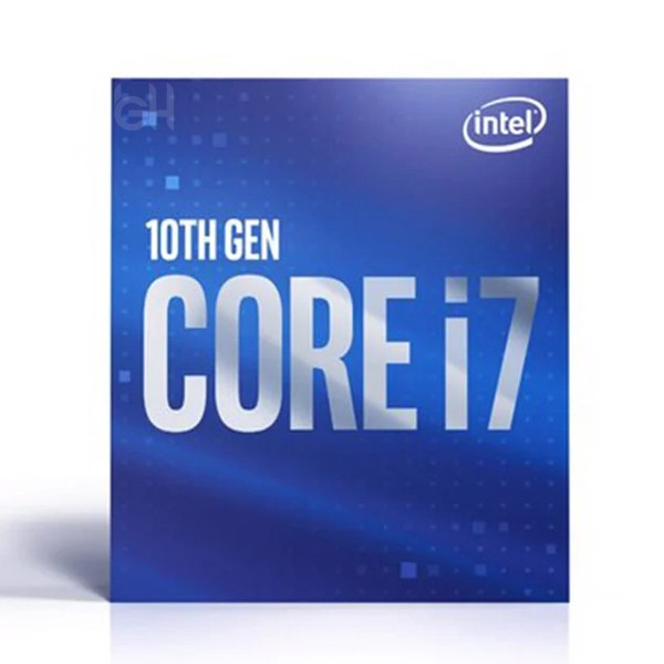 CPU INTEL CORE i7 10700 (2.9GHz turbo up to 5.0GHz, 8 nhân 16 luồng, 16MB Cache, 65W) 10TH NEW BOX CHÍNH HÃNG