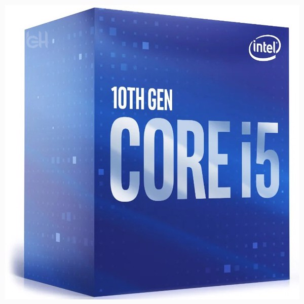 CPU INTEL CORE i5 10400 (2.9GHz turbo up to 4.3GHz, 6 nhân 12 luồng, 12MB Cache, 65W) 10TH NEW BOX CHÍNH HÃNG