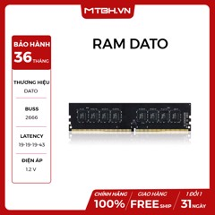 RAM DATO DDR4 8GB BUSS 2666 NEW 36TH