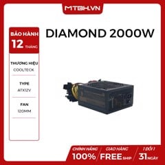 PSU COOLTECK BITCOIN DIAMOND 2000W 90 PLUS GOLD