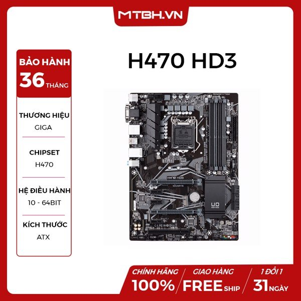 MAIN GIGA H470 HD3