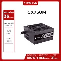 PSU CORSAIR 750W CX750M NEW