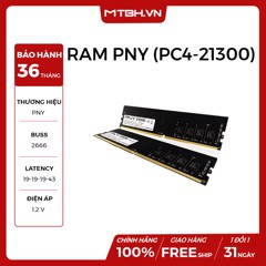 RAM PNY DDR4 8GB BUSS 2666 (PC4-21300) NEW