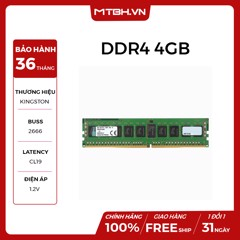 RAM DDR4 4GB Kingston 2666Mhz NEW