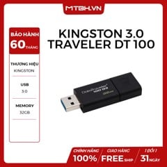 USB KINGSTON 32GB DATA TRAVELER DT 100 G3 USB 3.0