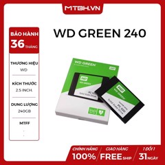 SSD WD 240GB NEW (WDS240G1G0A)