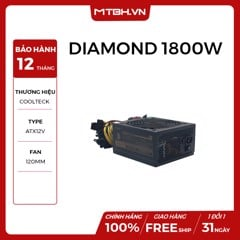 PSU COOLTECK DIAMOND 1800W MODULER 90 PLUS GOLD