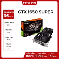 VGA GIGA GTX 1650 SUPER WINFORCE OC 4GB GDDR6