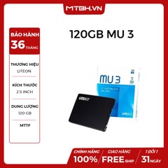 SSD LITEON 120GB MU3 MÃ (PH6-CE120)