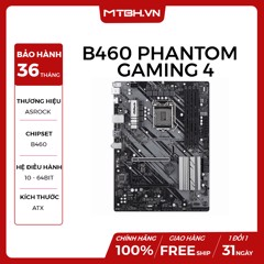MAIN ASROCK B460 PHANTOM GAMING 4