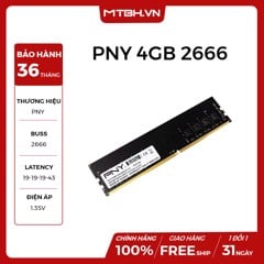 RAM PNY DDR4 4GB BUSS 2666 NEW 36TH
