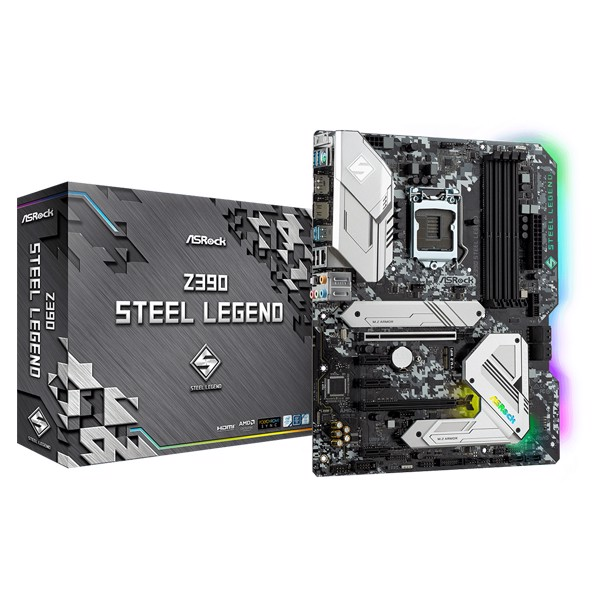 MAIN ASROCK Z390 STEEL LEGEND LGA1151V2