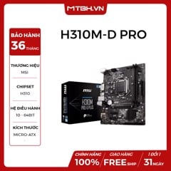 MAIN MSI H310M-D PRO PLUS NEW